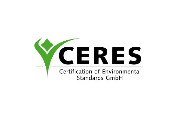 We are proudly certificate by CERES
